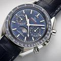 Thumbnail fsot - Omega Speedmaster - Blue Moonphase - 44.25mm - Master Co-Axial ( new / 2019 ) 3