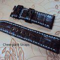 Thumbnail FS:A2250~2260 Panerai custom straps include some vintage cowskin straps & 3 croco straps.Cheergiant straps 17