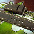 Thumbnail FS:Some Panerai custom straps A520~529 include green & purple crocodile belly strap.Cheergiant straps 12