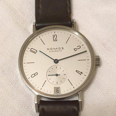 FS: NOMOS Tangente with Date + extra strap