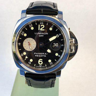 FS: Luminor Panerai PAM156 GMT Marina Regatta Limited Edition 2002. 44mm Stainless Steel, Automatic.