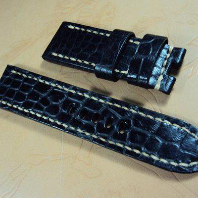 FS:Panerai custom straps A407~A442 include authentic crocodile & deployant clasp straps. Cheergiant