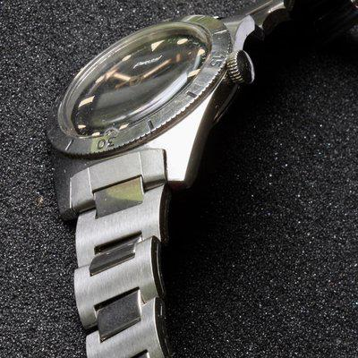 Divers bracelet for flat lugs 19mm 1960s new old stock