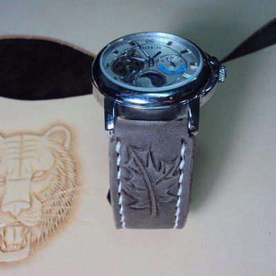 FS: Cheergiant Custom straps Svw400~Svw408 include JLC black croco strap,SEIKO Premier Chronograph. Cheergiant straps