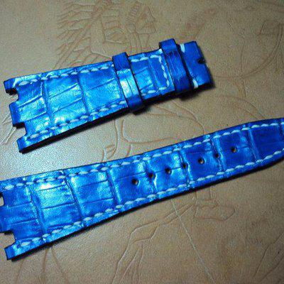 FS:Six custom croco straps Svw461~468 include AP ROO Navy Chrono,Chopard,IWC portuguese. Cheergiant straps