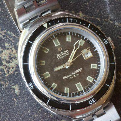 1970s original Zodiac Super Sea Wolf 75ATM trusted seller