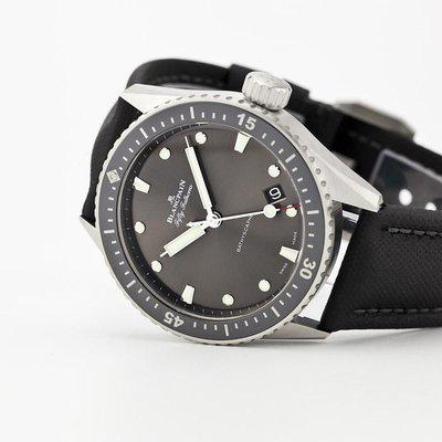 fsot - Blancpain Fifty Fathoms - Bathyscaphe - 5000-1110-B52A ( brand new )