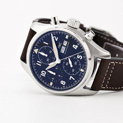 fsot - IWC Pilot Spitfire Chronograph - 41mm - In-House - IW387903 ( new / 2020 )