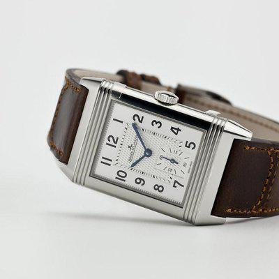 fsot - Jaeger LeCoultre - JLC - Reverso Classic Large Brown Strap - Q3858522 3858522 ( new / 2019 )