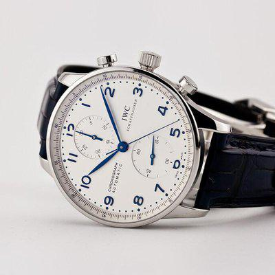 fsot - IWC Portuguese Chronograph - NEW In-House Movement - IW371605 ( brand new )