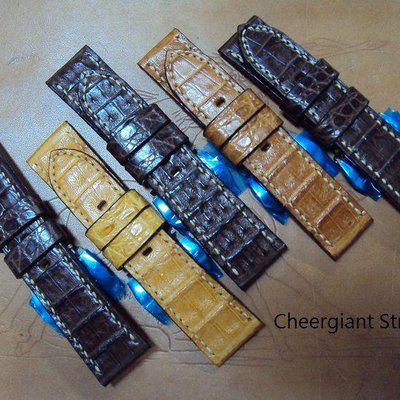 FS: Some hand made Panerai straps include Assolutamente & croco straps A2291~A2300.Cheergiant straps