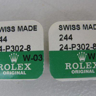 FS: Rolex Yellow Gold Daytona 6263/6265 screw-in pushers P302-8