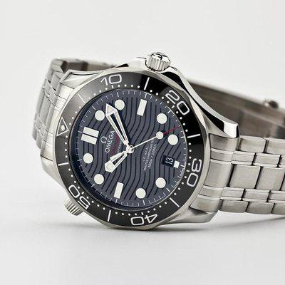 fsot - Omega Seamaster 300 - Black - Wave Dial - 42mm - Master 8800 ( new / 2019 )