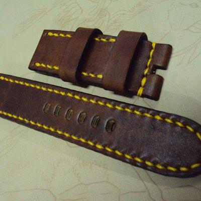 FS: Y series Panerai custom straps include some crococalf and shark straps. Cheergiant straps