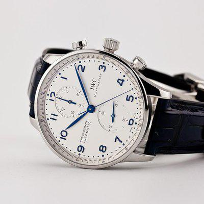fsot - IWC Portuguese Chronograph - In-House Movement - IW371605 ( brand new )