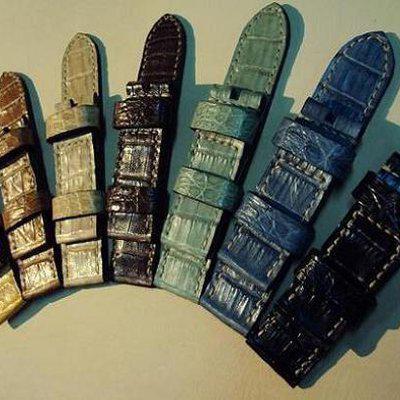 FS 7 crocodile Panerai straps & some custom ultralength straps Porder801~806 & custom straps Porder601~610. Cheergiant straps