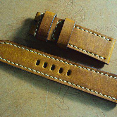 FS:A2110~2120 Panerai custom straps:tan,white,green,brown & orange croco straps. Cheergiant straps