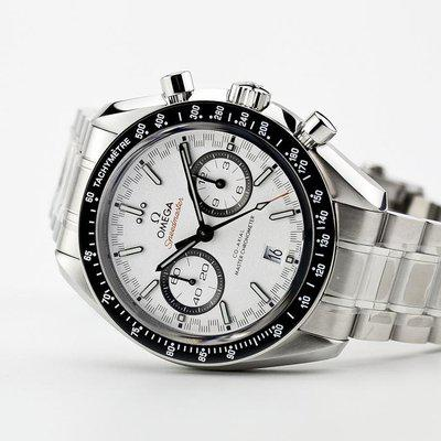 fsot - Omega Speedmaster - Racing Master Co-Axial 44.25mm - White Dial ( new / 2018 )