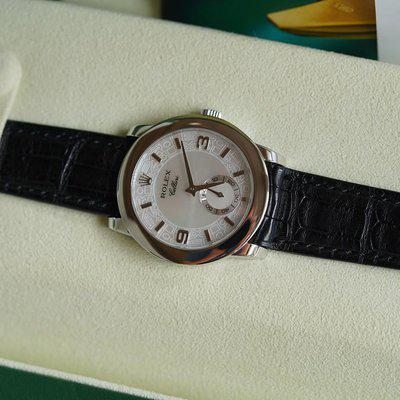 FS: Excellent condition Rolex Cellini Cellinium Platinum MOP Dial 5240.