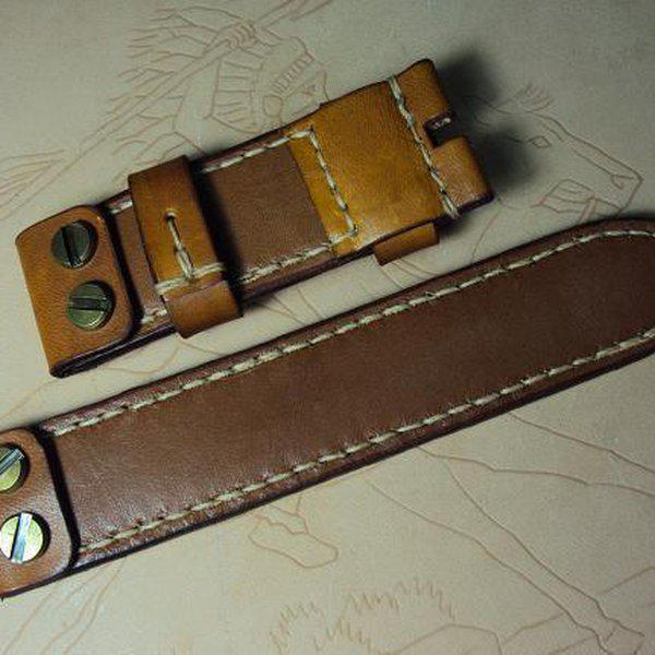 FS Custom RXW MM25 hidden screw strap & Panerai vintage leather straps OrderJ01~J22.Cheergiant strap 26