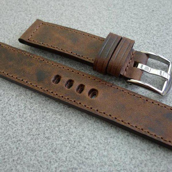 20 and 22 mm hand made straps 19