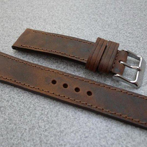 20 and 22 mm hand made straps 15