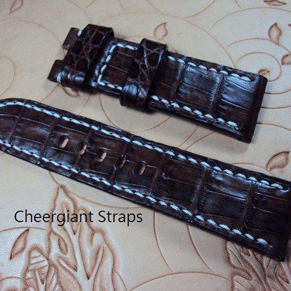 FS:A2250~2260 Panerai custom straps include some vintage cowskin straps & 3 croco straps.Cheergiant straps 17
