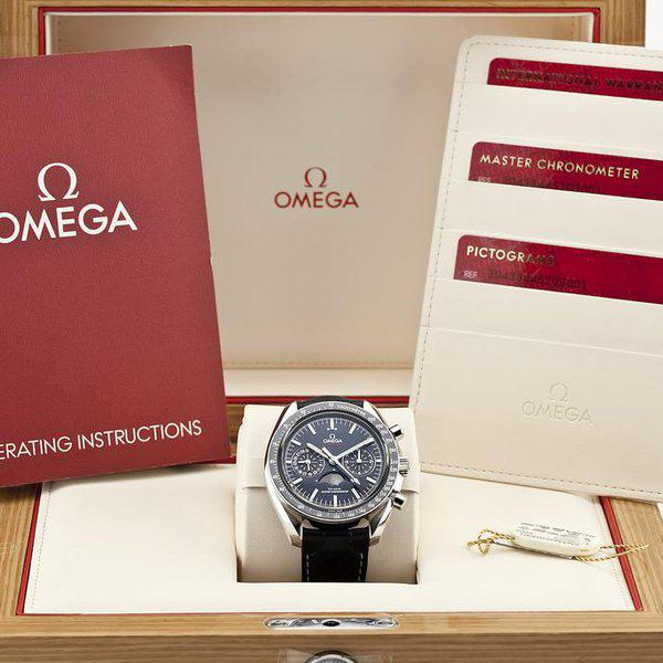 fsot - Omega Speedmaster - Blue Moonphase - 44.25mm - Master Co-Axial ( new / 2019 ) 12
