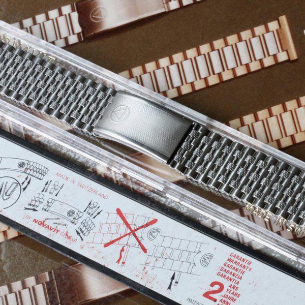 Novavit Swiss NSA 1960s bracelets, Long & XL ones to order 3