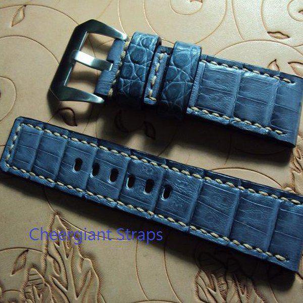FS:A2250~2260 Panerai custom straps include some vintage cowskin straps & 3 croco straps.Cheergiant straps 12