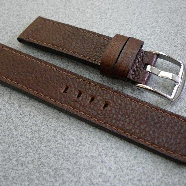 20 and 22 mm hand made straps 21