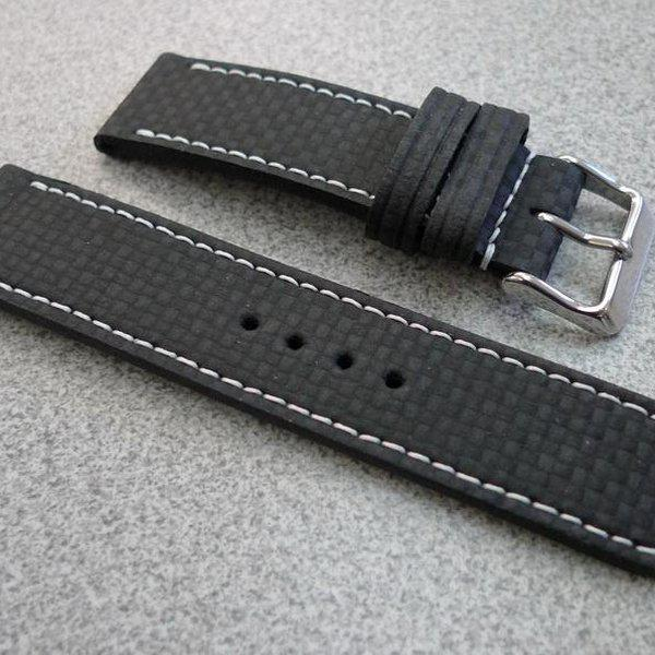 20 and 22 mm hand made straps 4