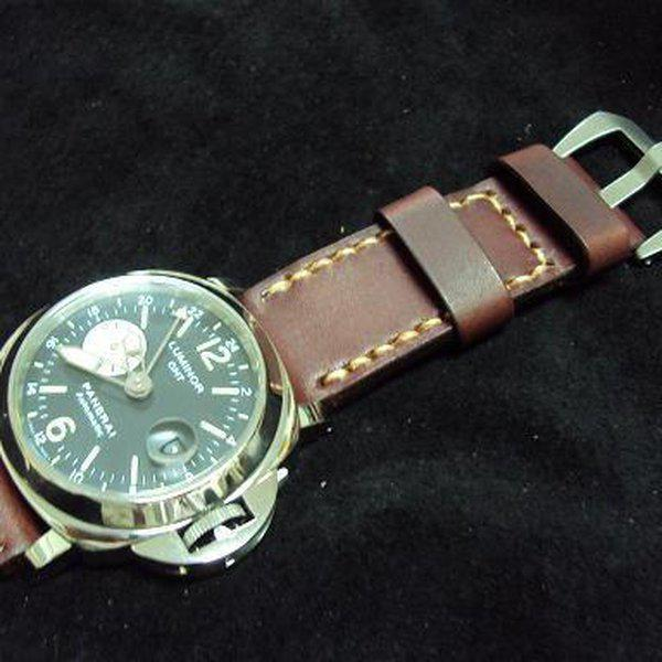 FS Custom RXW MM25 hidden screw strap & Panerai vintage leather straps OrderJ01~J22.Cheergiant strap 16