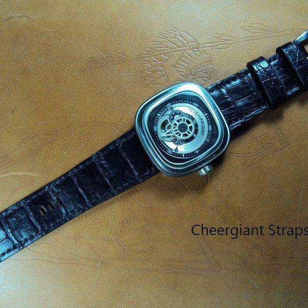 FS:Some SEVENFRIDAY & Corum croco strap & Tissot T-Race Touch AnaDigi leather strap.Cheergiant strap 6