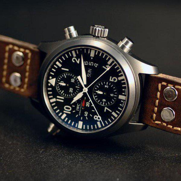FS - Custom Pilot Aviator Style Straps in Alligator, Leather & Canvas 2