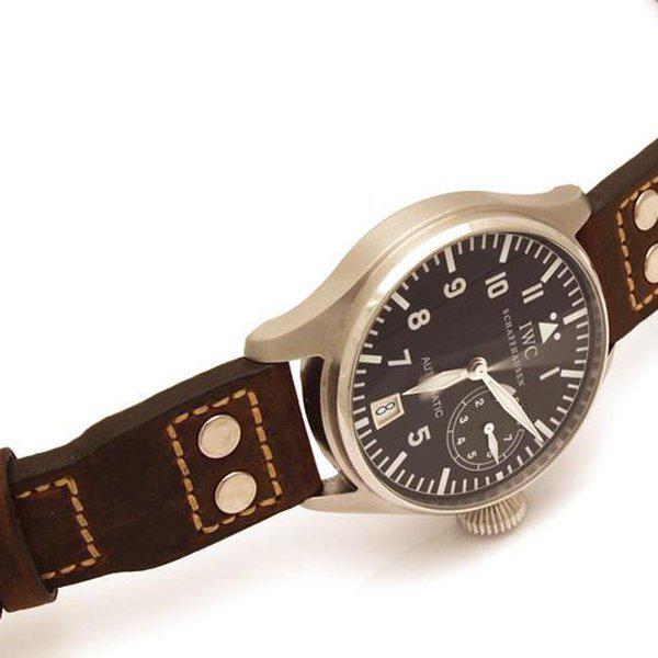 FS - Custom Pilot Aviator Style Straps in Alligator, Leather & Canvas 4
