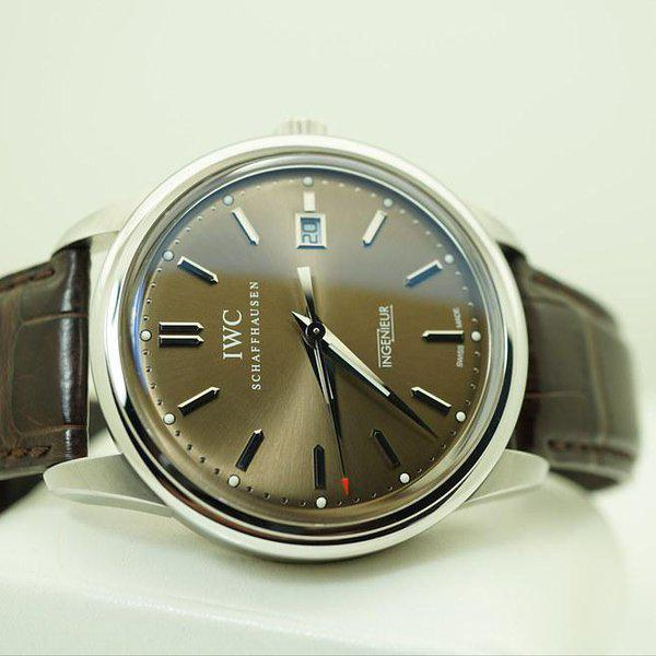 FSOT:IWC Ingenieur AUTOMATIC IW323311 LIMITED EDITION CHOCOLATE DIAL STEEL FULL SET 10