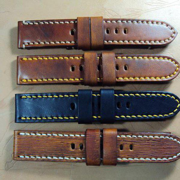 FS:Some Panerai custom straps A520~529 include green & purple crocodile belly strap.Cheergiant straps 3