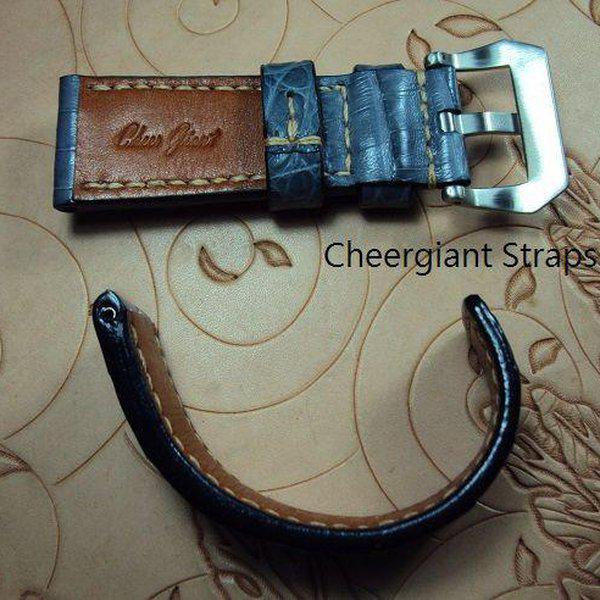FS:A2250~2260 Panerai custom straps include some vintage cowskin straps & 3 croco straps.Cheergiant straps 13