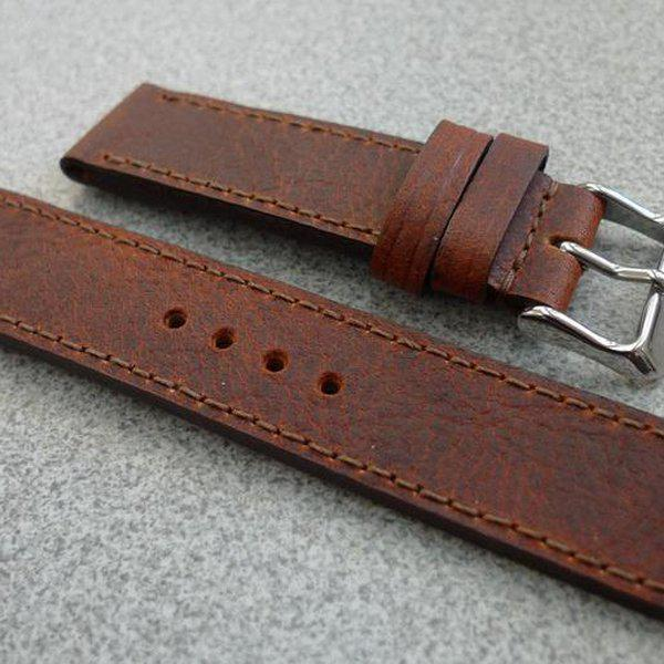 20 and 22 mm hand made straps 7