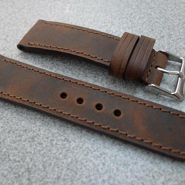 20 and 22 mm hand made straps 6