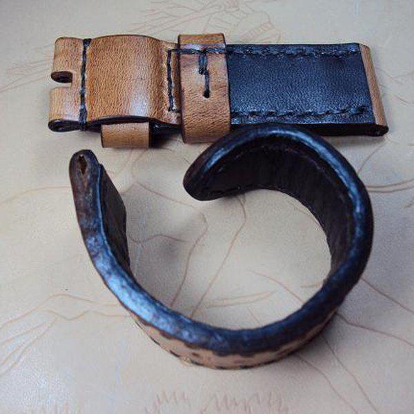 FS: Y series Panerai custom straps include some crococalf and shark straps. Cheergiant straps  18