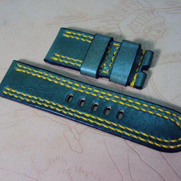 FS: K series Panerai straps includie shorter straps & grayish blue croco strap, Cheergiant straps  12
