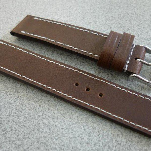 20 and 22 mm hand made straps 2