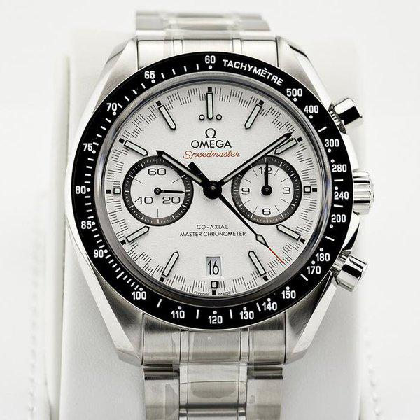 fsot - Omega Speedmaster - Racing Master Co-Axial 44.25mm - White Dial ( new / 2019 ) 5
