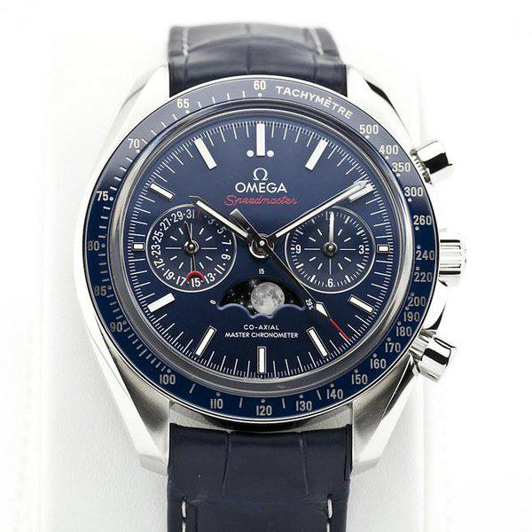 fsot - Omega Speedmaster - Blue Moonphase - 44.25mm - Master Co-Axial ( new / 2019 ) 4