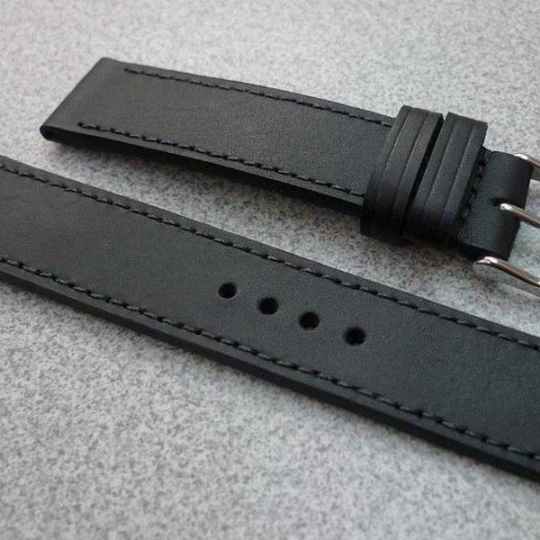 20 and 22 mm hand made straps 3