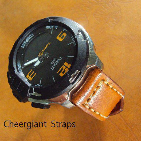 FS:Some SEVENFRIDAY & Corum croco strap & Tissot T-Race Touch AnaDigi leather strap.Cheergiant strap 25