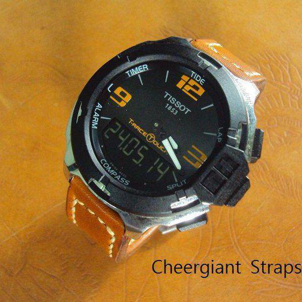 FS:Some SEVENFRIDAY & Corum croco strap & Tissot T-Race Touch AnaDigi leather strap.Cheergiant strap 22