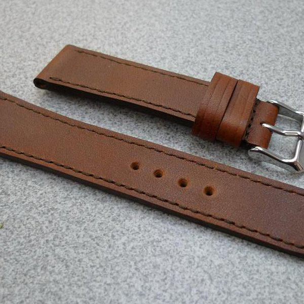 20 and 22 mm hand made straps 14